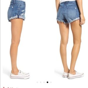 Volcom Distressed Denim Shorts